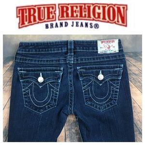 💙True Religion Julie Skinny stretch denim jean